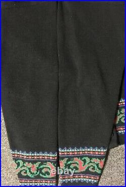 Vtg Pendleton Cardigan Wool Sweater L USA Made Outdoors Sailing Nautical 70s 80s