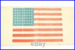 WWII USA Paratrooper D-Day invasion American flag armband 101st Airborne 82nd