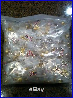 Wholesale Lot 500 American Flag United States USA Election Ribbon Lapel Hat Pin