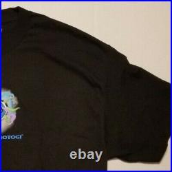 YuYu Hakusho Vintage Ghost Files TCG Mens XL Shirt Ghost Akira Moon Evangelion